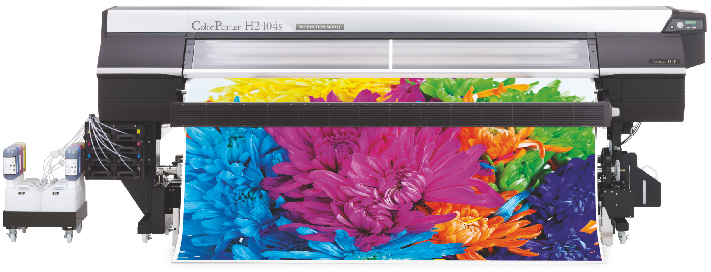 Ploter solentowy OKI ColorPainter H2-104s